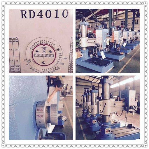 Radial drilling machine ready for shipment