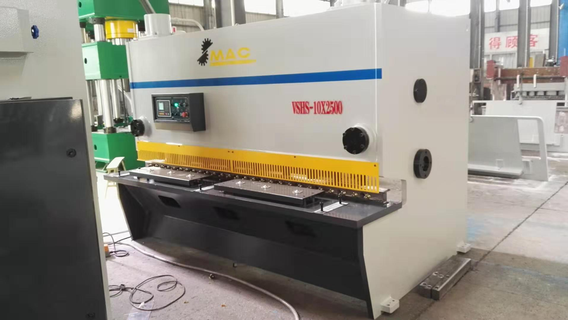 Different model of shearing machine and press brake