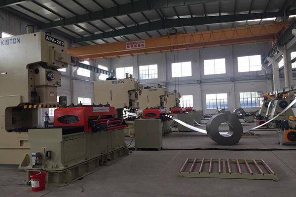 Complete Power Press Line In Turkey