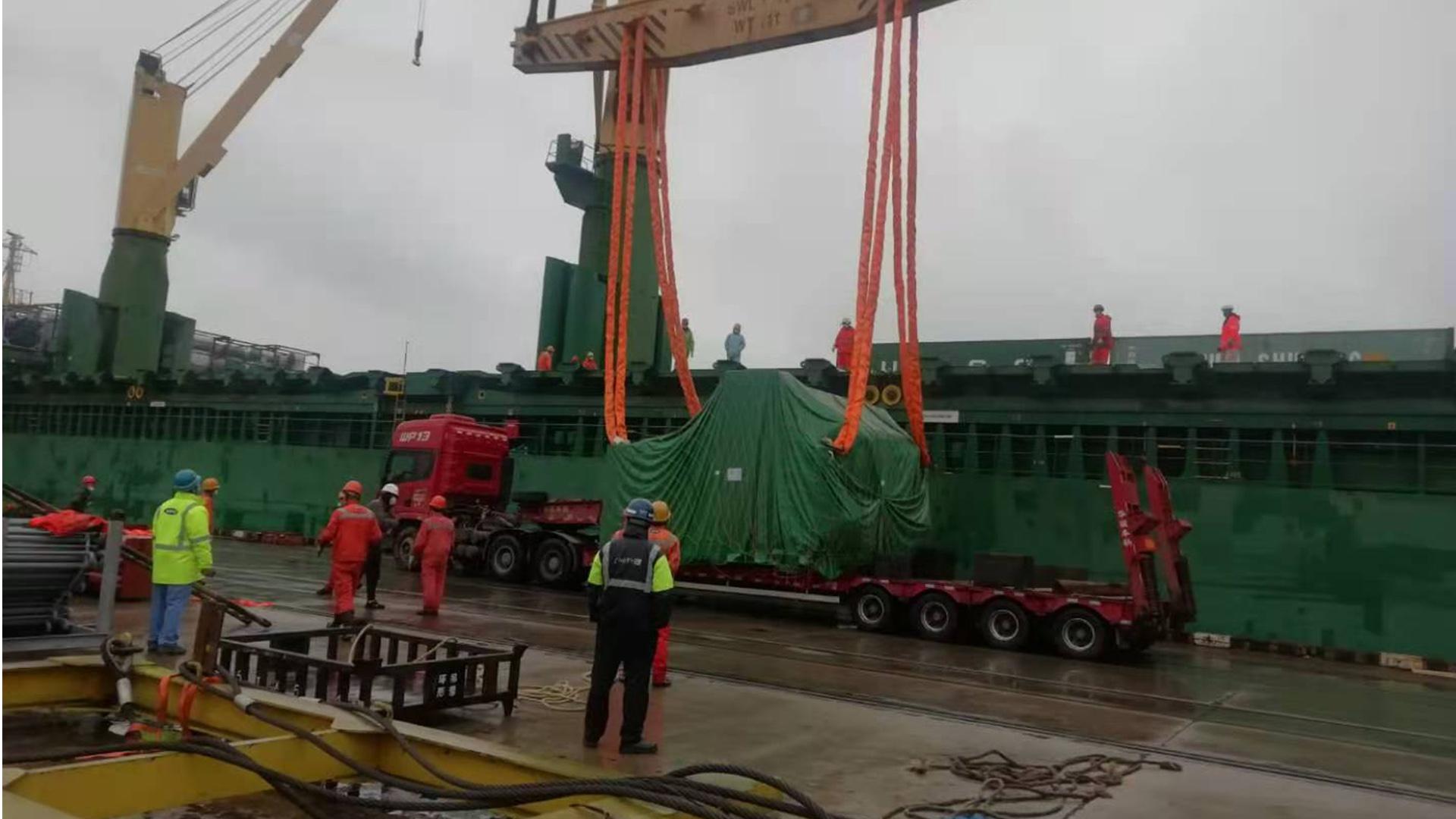 12sets power press APE-400 to Turkey by bulk cargo