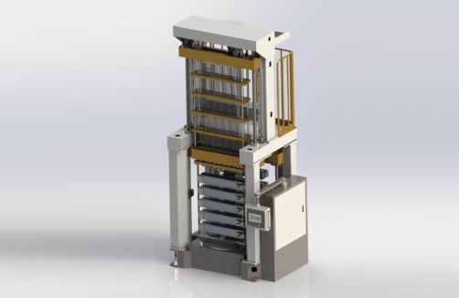 Vertical Shrinkless Expander With Clamping Fixture