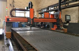 CNCSG3000 Gantry Type CNC Plasma Cutting Machine