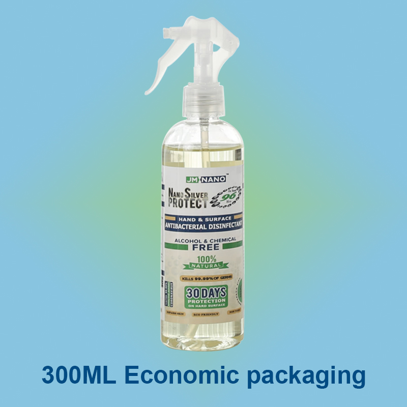 300ML Nano Silver Antibacterial Disinfectant Spray