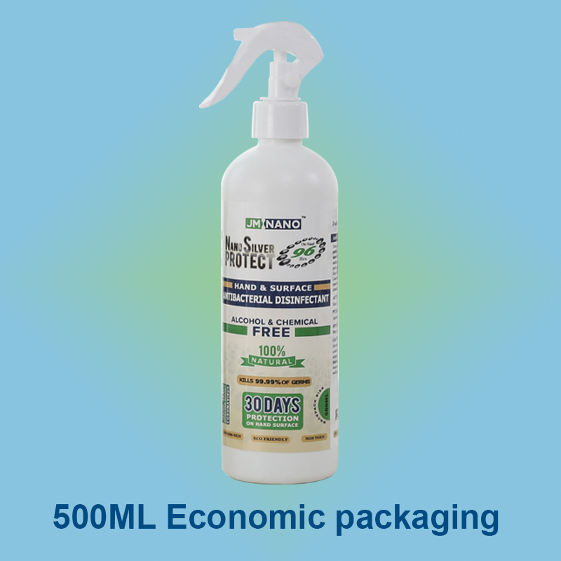 500ML Nano Silver Antibacterial Disinfectant Spray
