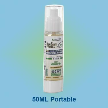 50ML Nano Silver Antibacterial Disinfectant Spray