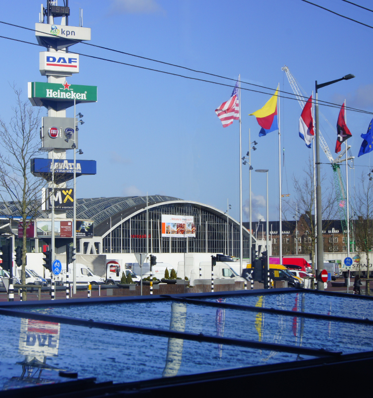 China Hankun participated in Amsterdam Intertraffic in previous years