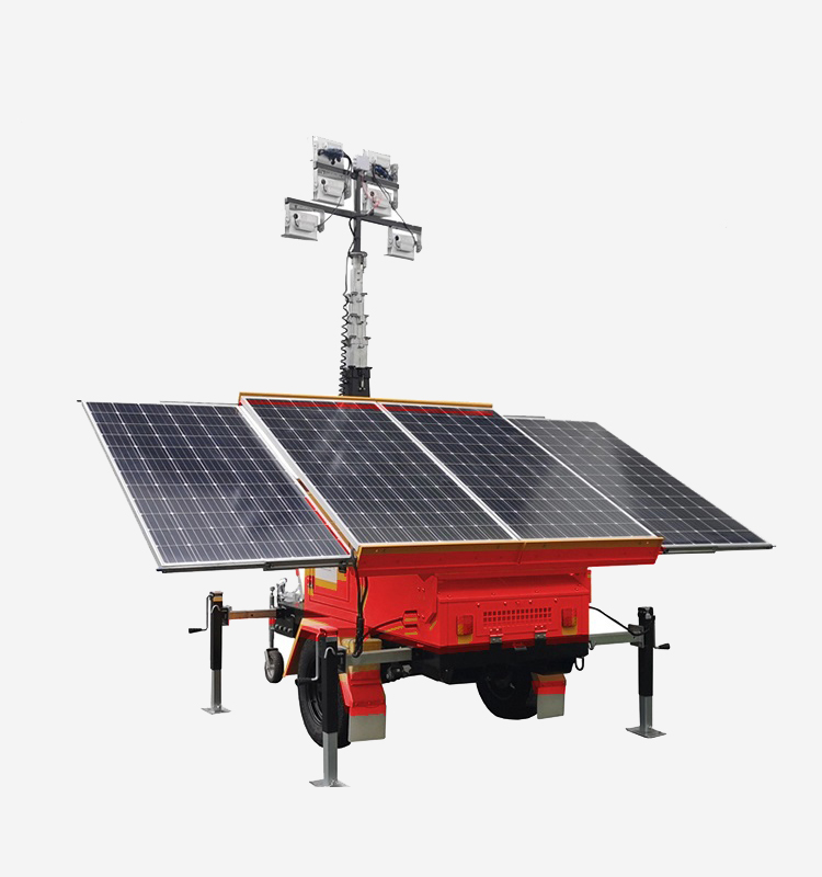 Mobile Solar Light Tower Efficiency