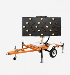 Solar Assist Arrow Board Trailer 15 & 25 Light Models