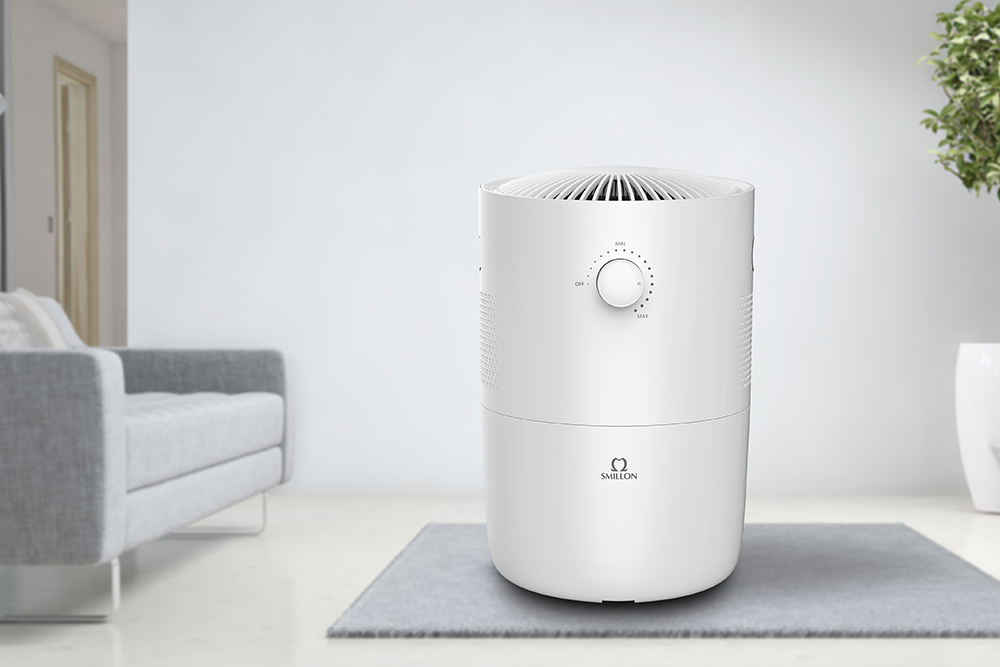 Air Purifier Humidifier with HEPA & Active Carbon Filter 191