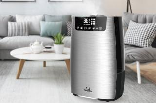 Warm & Cool Mist HEPA Purification Humidifier SH802
