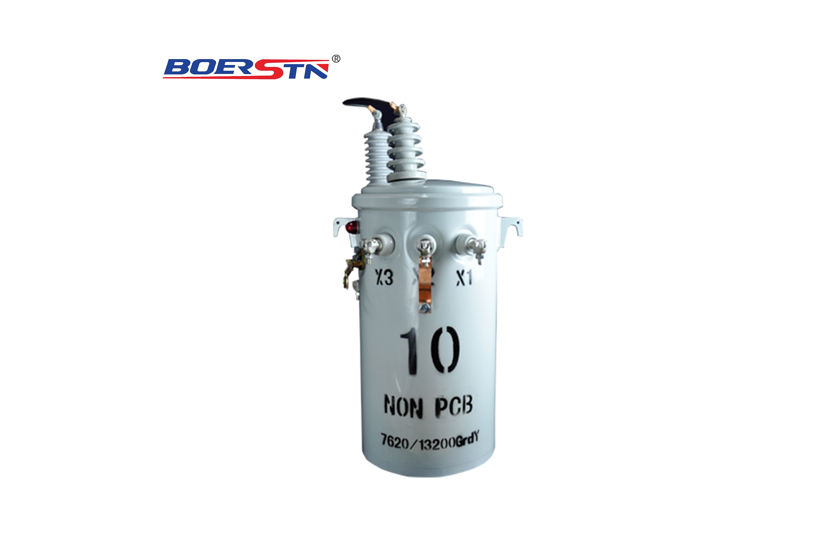 Single Phase Pole Mounted Oil Immersed Self Protection Transformer