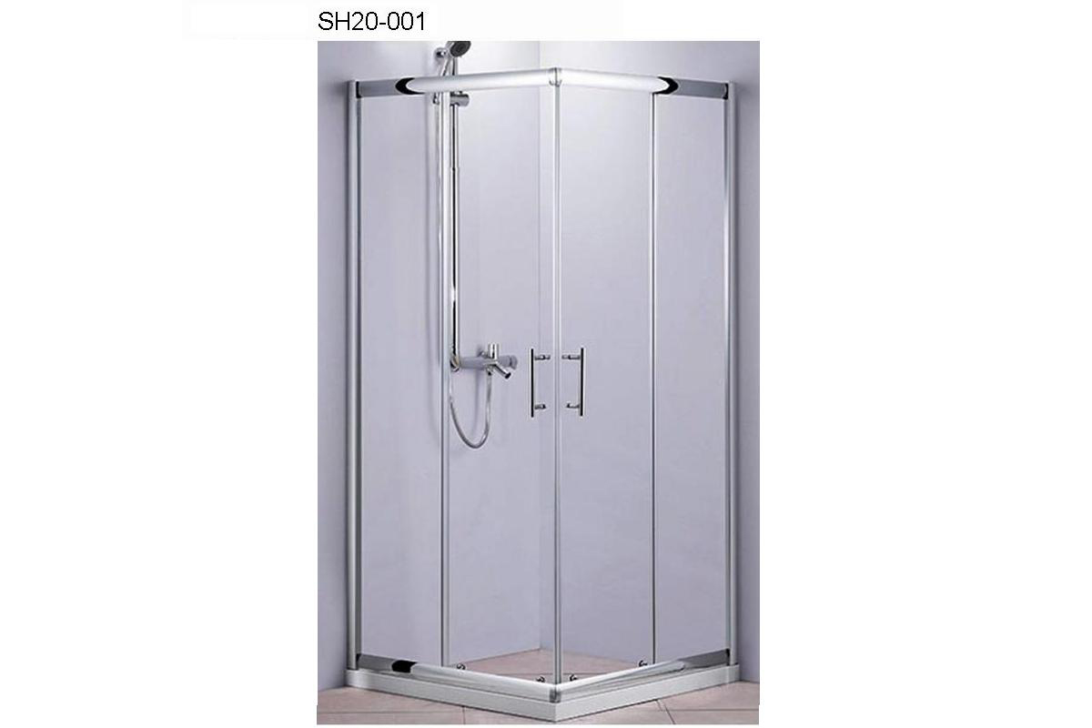 SH20-001 - Square/Rectangular Enclosure in sliding doors