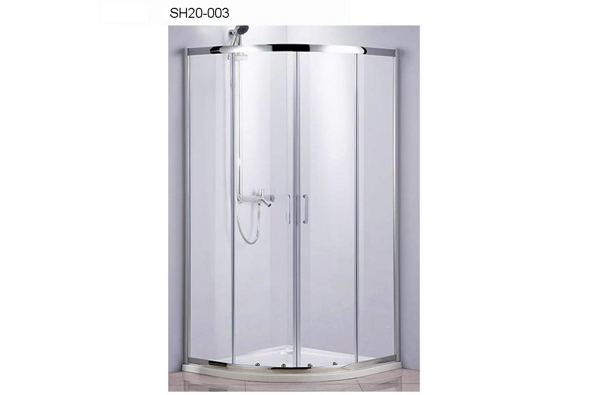 SH20-003 - Round Enclosure in sliding doors