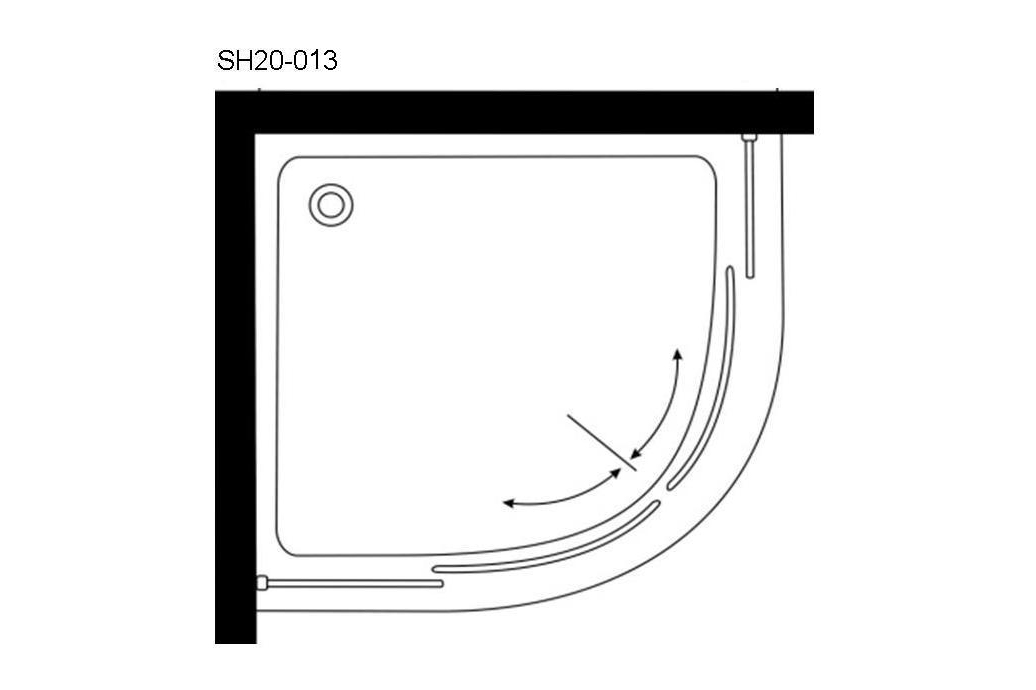 SH20-013 - Round Enclosure, Quick Assembly