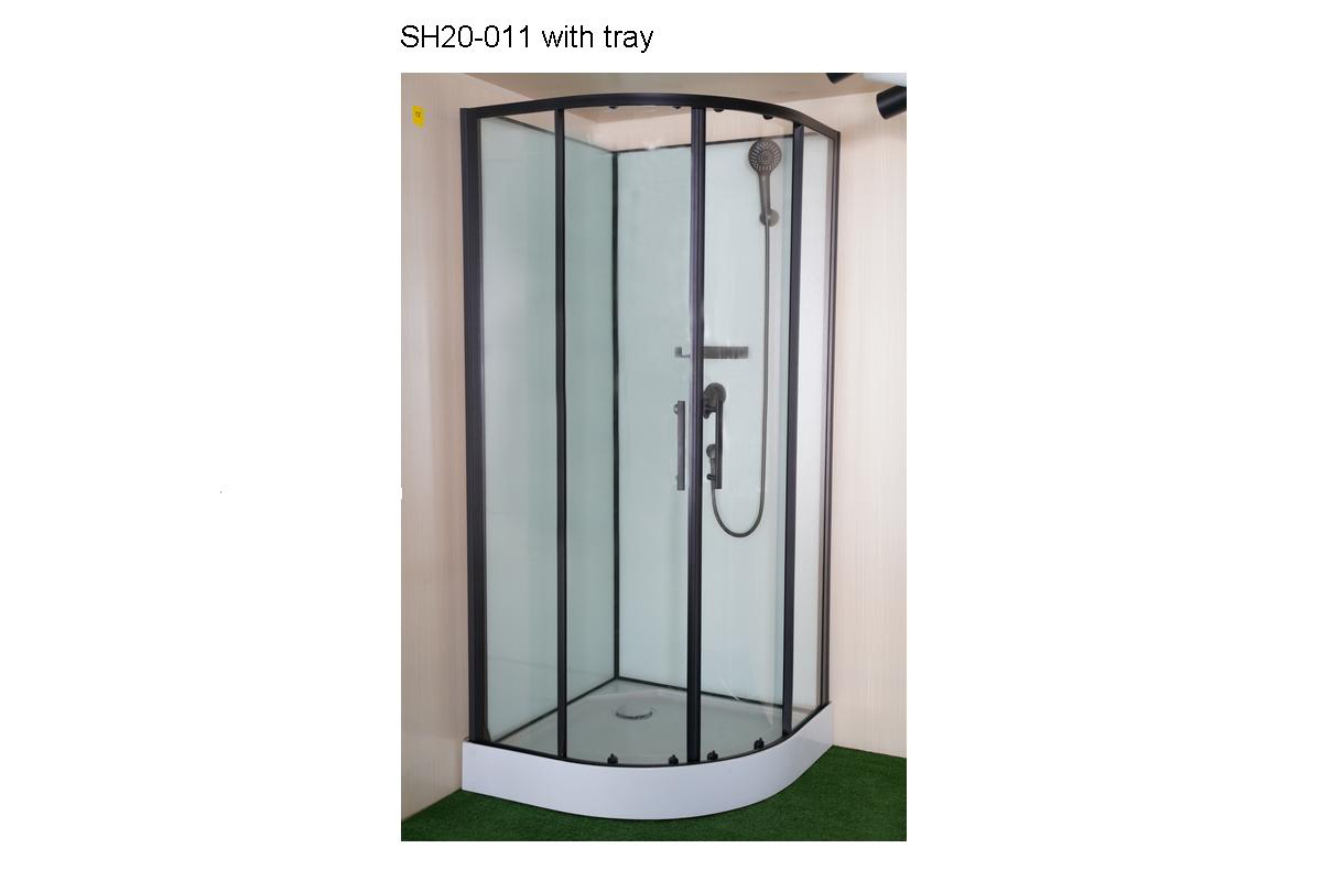 SH20-011 - Round Enclosure with Shower Set