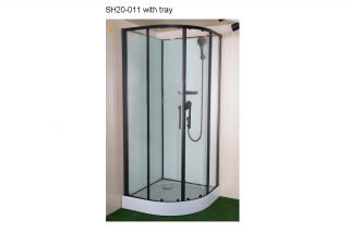 SH20-011 - Round Cabin with Shower Set
