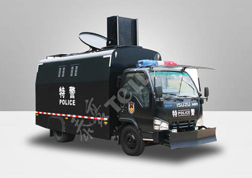 Acoustic-Optic Scatter Anti-Riot Vehicle