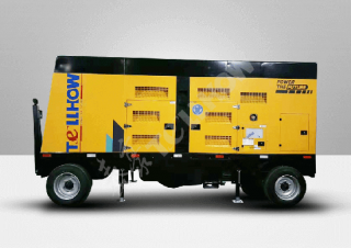 Split Type-Volvo Powered Trailer