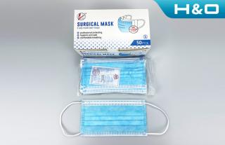 Disposable medical surgical маsk (sterilization)