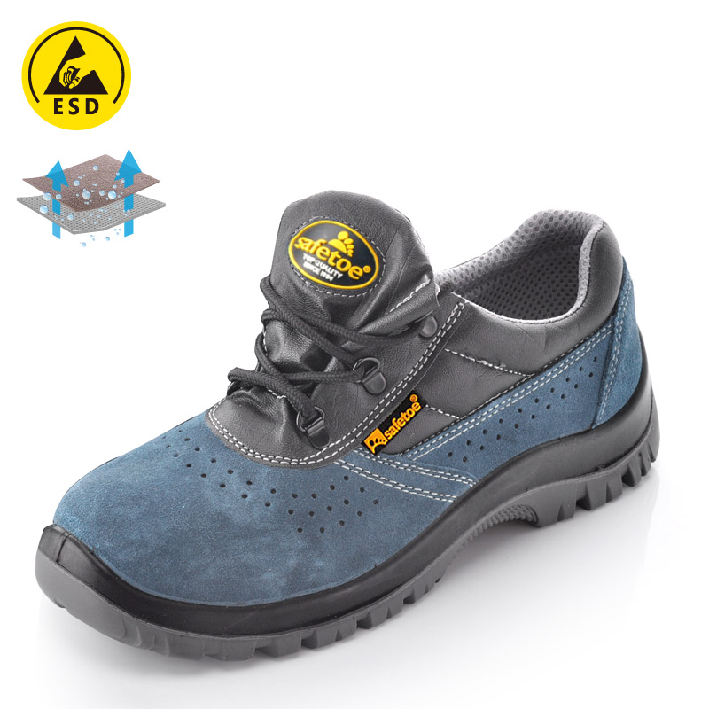 Safety Shoes for Summer Blue L-7006