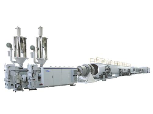 HDPE solid wall drainage pipe production line