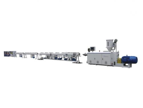 HDPE water supply/gas supply pipe extrusion line