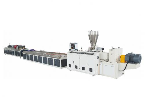 PVC high speed profile & foamed profile extrusion line