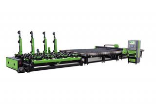 JL-CNC-4228 CNC Automatic Shaped Glass Cutting Line