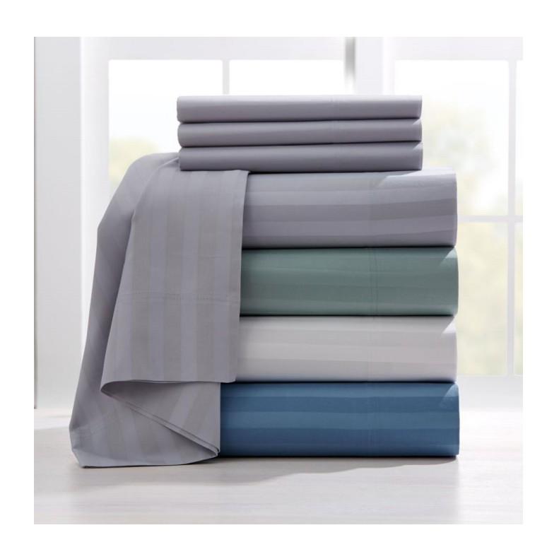 Embossed Soft Brushed Microfiber Bedding Sheet Set