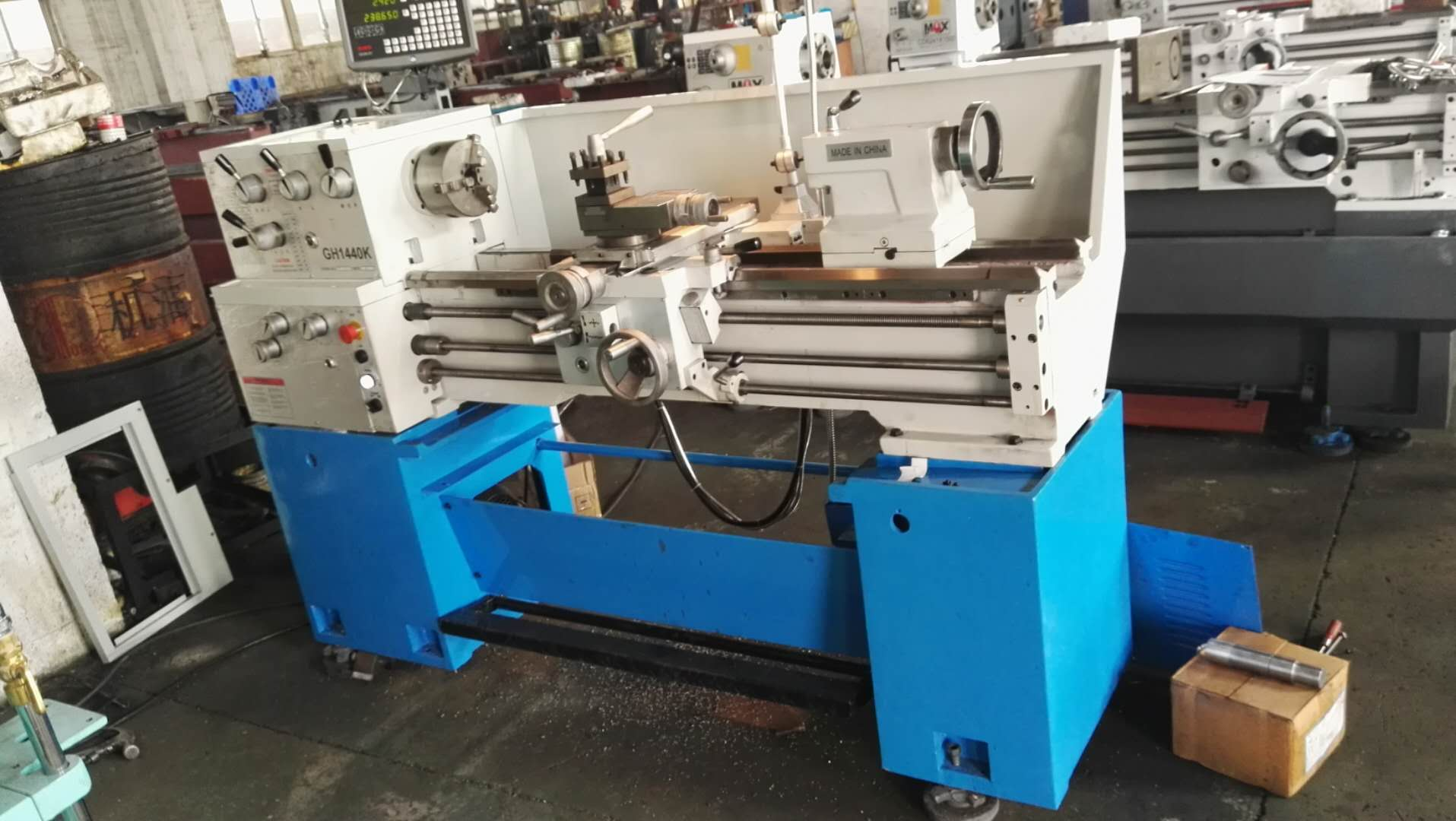 Lathe Machine Ready For Shipment