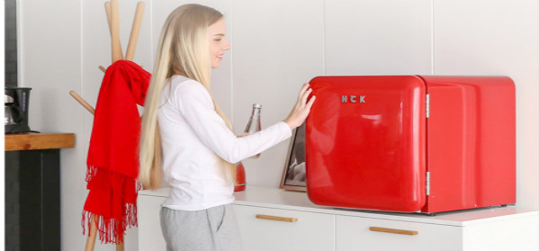 The HCK Retro Refrigerator is not just a refrigerator