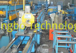 Pallet Rack Step Beam Roll Forming Machine