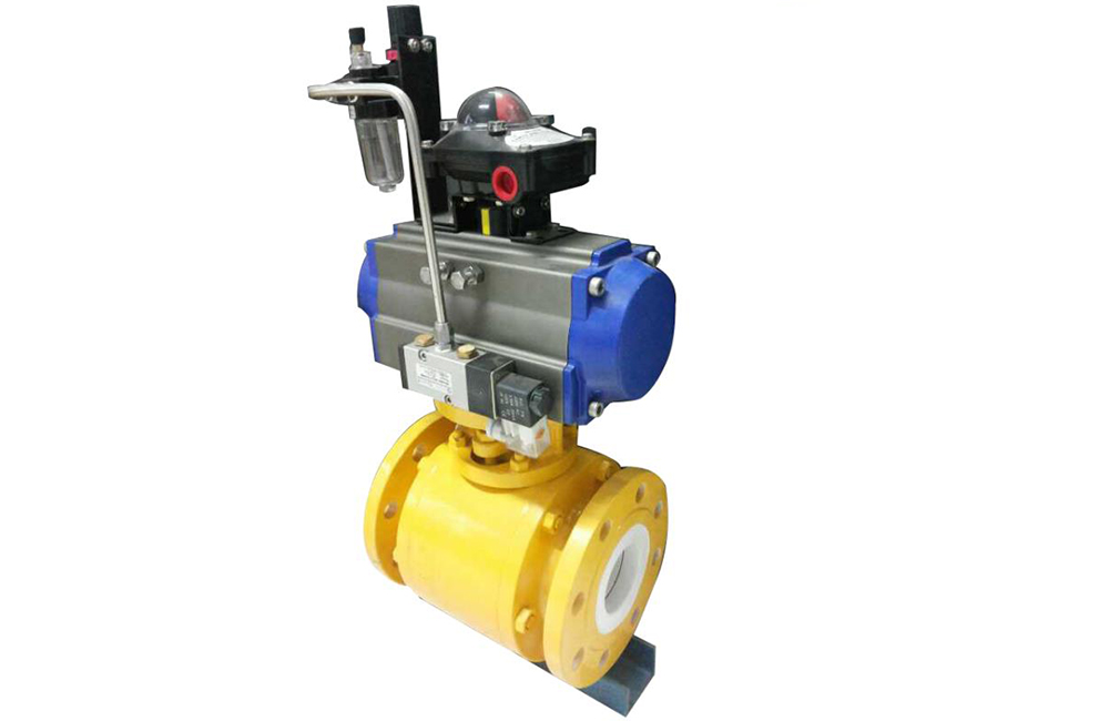 Ceremic Lined Ball Valve