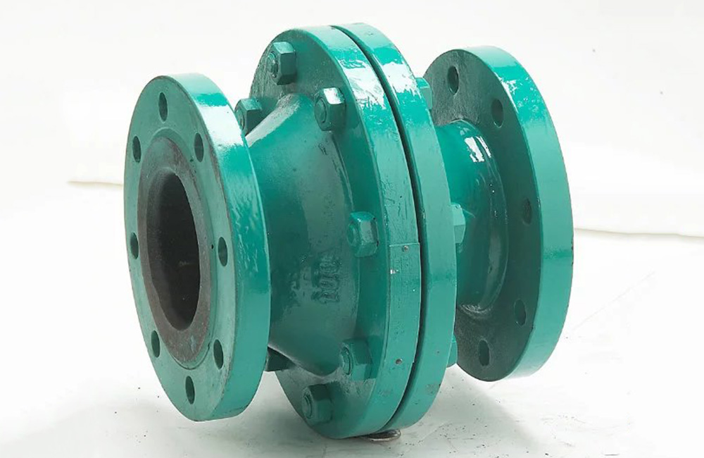 Ball Float Pattern Rubber Lined Check Valve