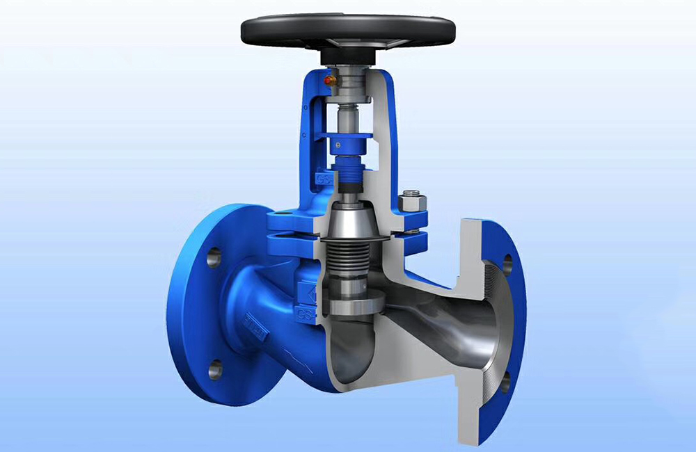 Bellow Sealed Globe Valves