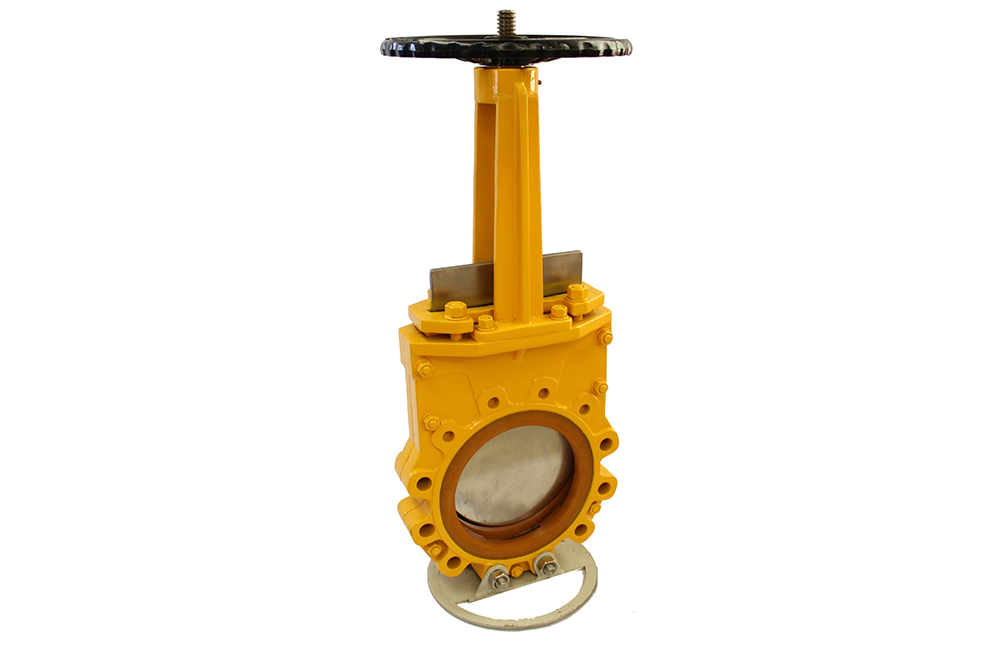 Bidirectional Urethane Lined Knife Gate Valve