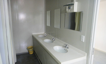 ablution container rental