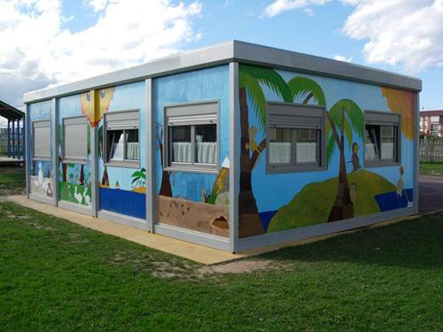 Modular Kindergarten container price