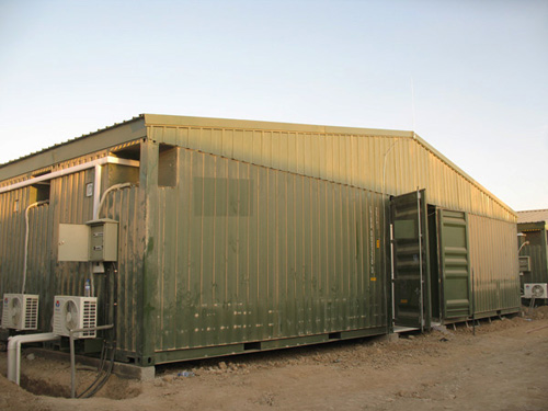 Military container