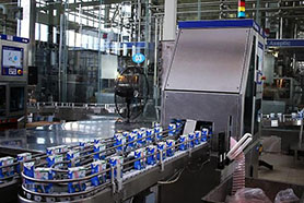 Sweet butter processing line Package in bulk container