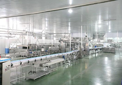 50 tons/d automatic butter process line