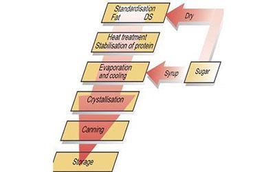 Ligne complète de traitement de lait de soja