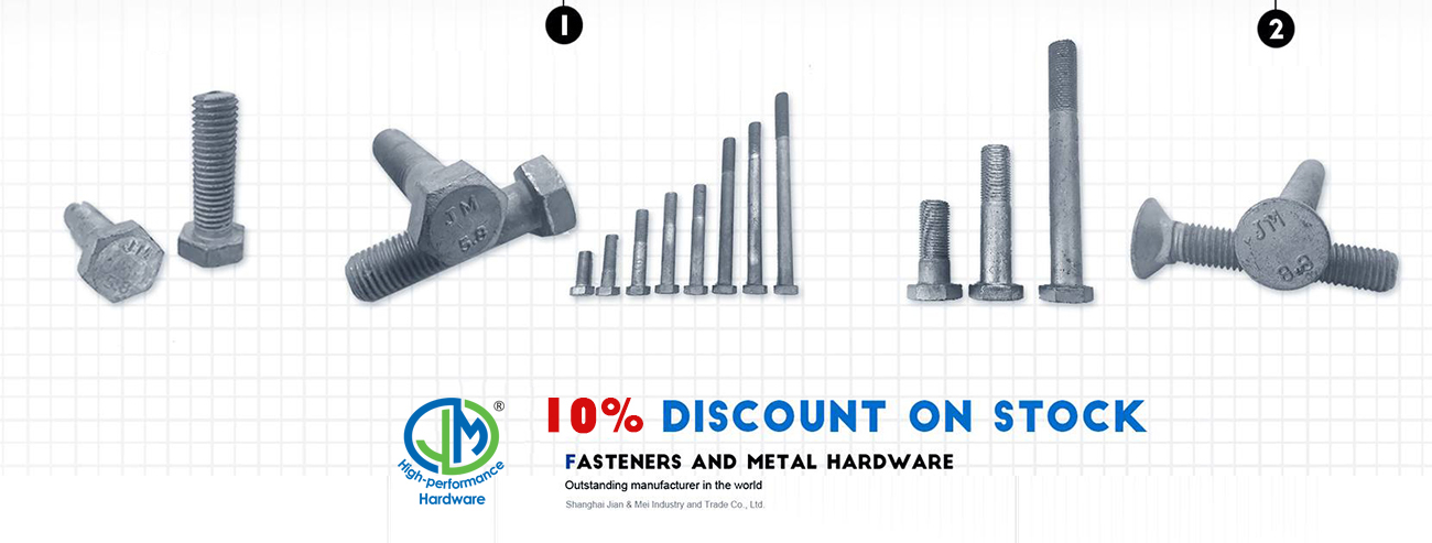 hex bolt and nut hex head bolt
