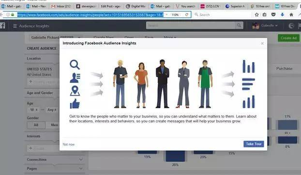 Facebook Audience Insights免费营销工具