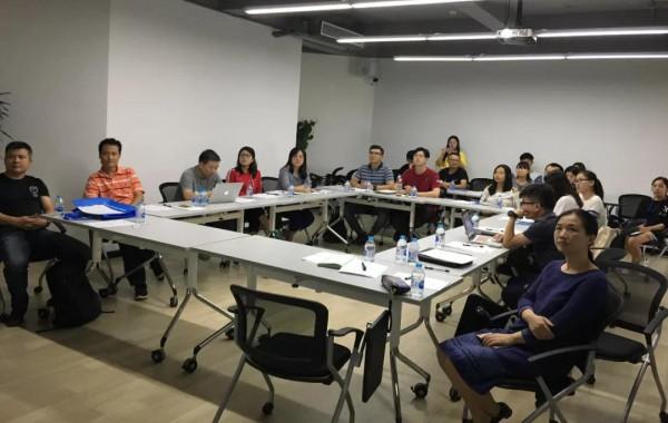 """""""上海对外经贸大学'企业海外营销'实践项目启动仪式现场"""