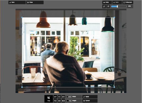在Pixlr中裁剪图像,使其与我的其他图像大小相同