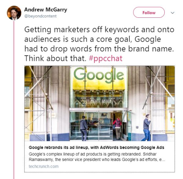 Google搜索展示页面