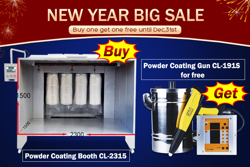 powder coating recovery booth