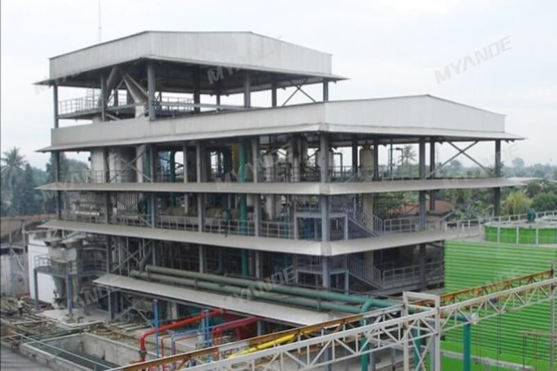 1,000tpd Palm Kernel Solvent Extraction Plant