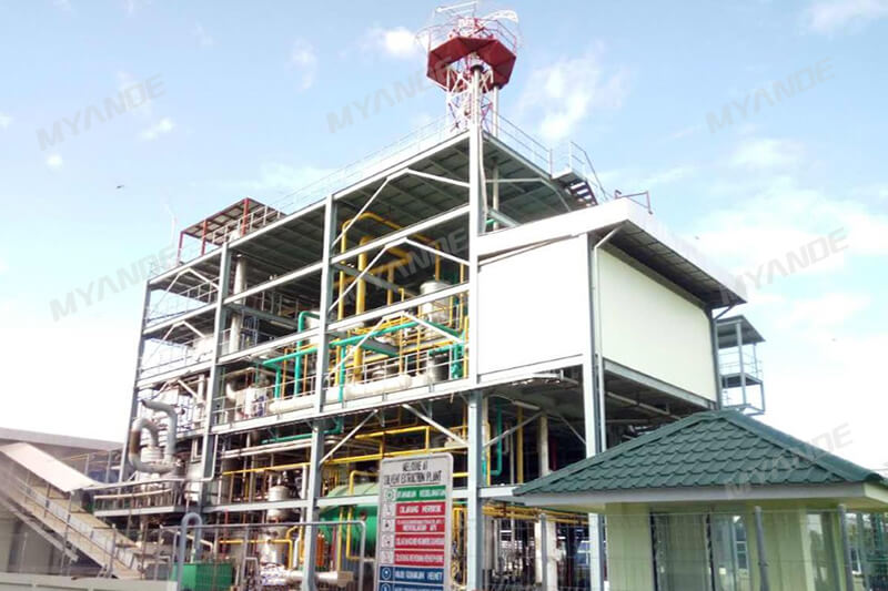 200tpd Palm Kernel Cake Solvent Extraction Plant